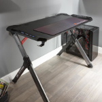X Rocker Lynx RGB computer desk Black, Grey