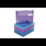 Rapesco Box File, 40mm file storage box Blue,Green,Red,Violet,White