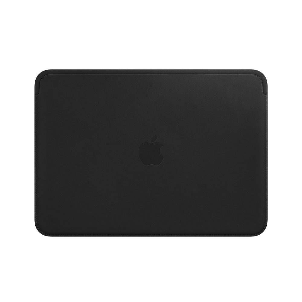Leather Sleeve - 12in MacBook - Black