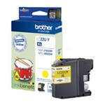 Brother LC-22UY Ink cartridge yellow, 1.2K pages LC22UY