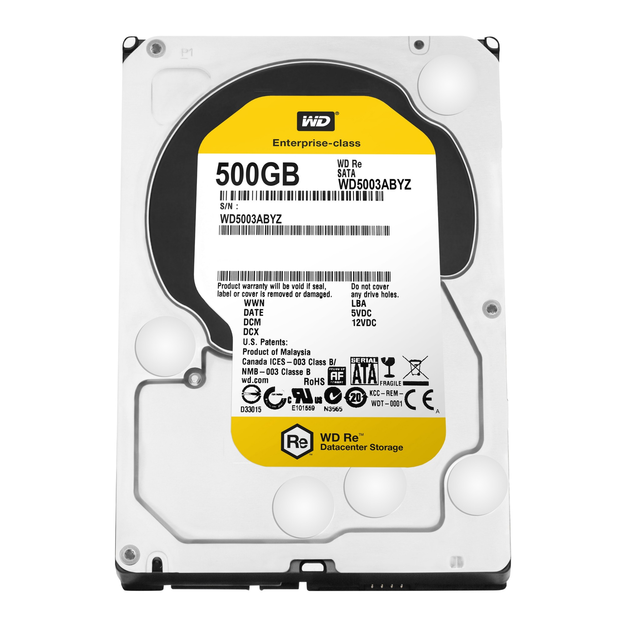 Western Digital RE 500GB Serial ATA III internal hard drive