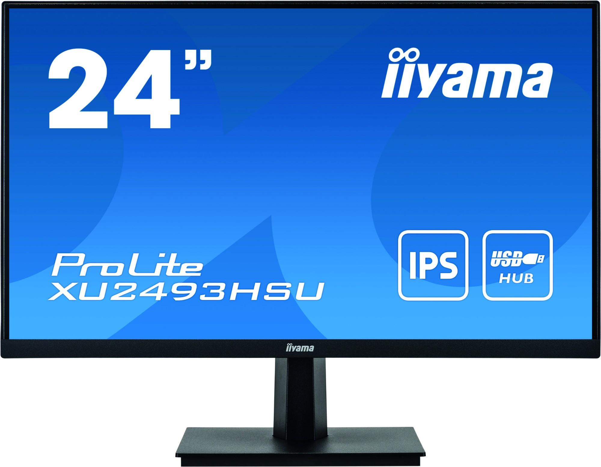 iiyama ProLite XU2493HSU-B1 computer monitor 60.5 cm 23.8