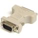 StarTech.com Adaptador Conversor DVI-I a VGA - DVI-I Hembra - HD15 Macho - Blanco