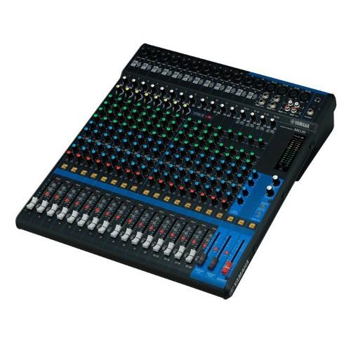 Yamaha MG20 20channels 20 - 48000Hz Black audio mixer