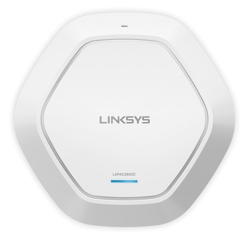 Linksys LAPAC2600C WLAN access point 2600 Mbit/s Power over Ethernet (PoE) White