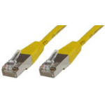 Microconnect 0.5m Cat6 FTP 0.5m Yellow networking cable