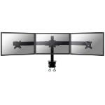 Newstar FPMA-D700D3 Flat panel Tischhalter 68,6 cm (27 Zoll) Klemme Schwarz