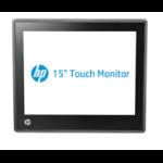"HP L6015tm 38.1 cm (15"") 1024 x 768 pixels Black"