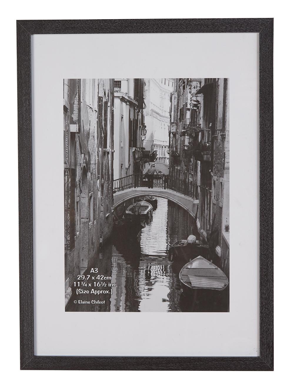 Photo Album Co Certificate A3 Grey Paperwrap Wood Frame