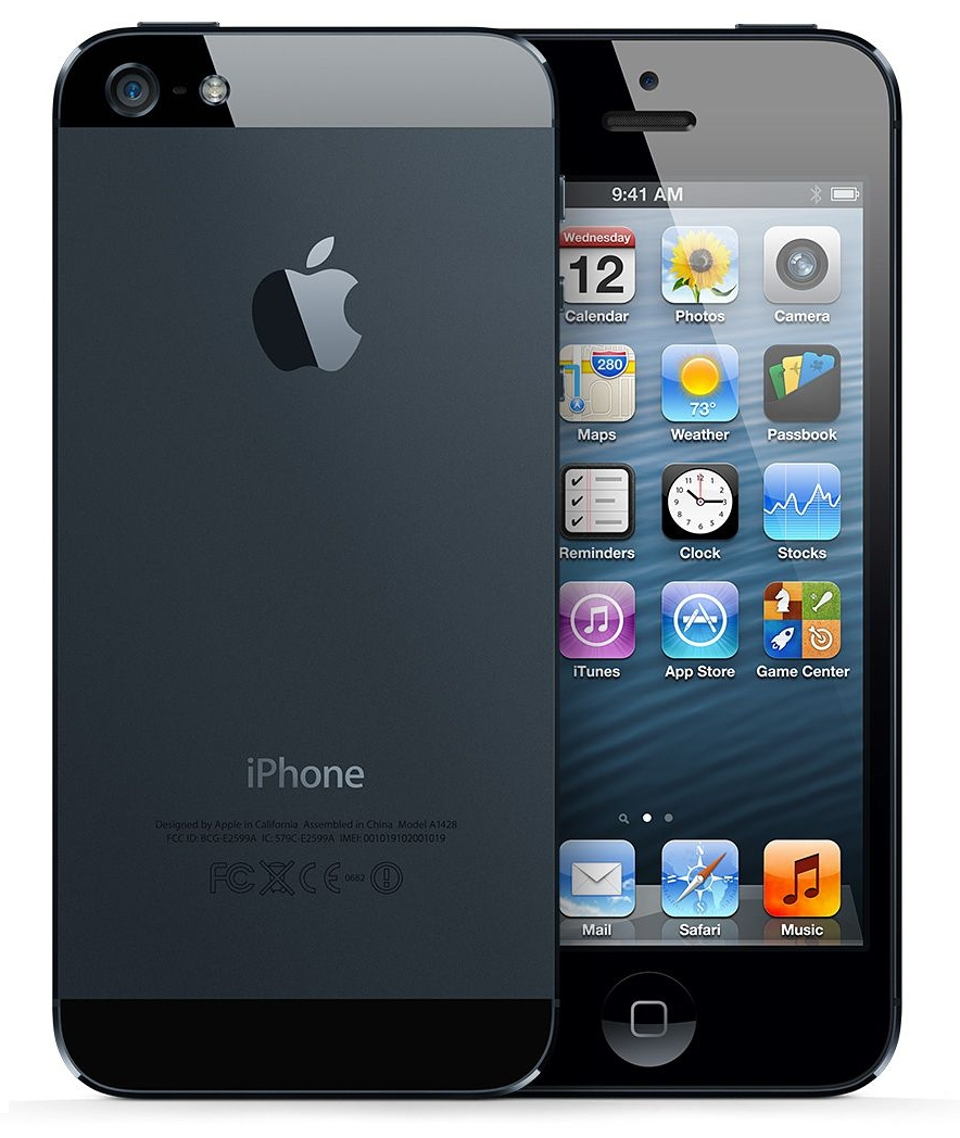 iPhone 5 64GB Apple Original Celular Desbloqueado BLACK