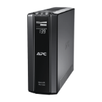 APC Back-UPS Pro uninterruptible power supply (UPS) 1500 VA 10 AC outlet(s) Line-Interactive