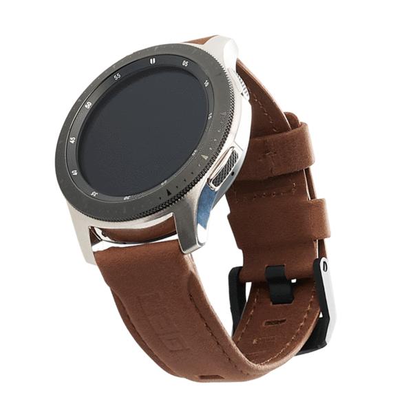Urban Armor Gear 29180B114080 accesorio de relojes inteligentes Grupo de rock Marrón Cuero