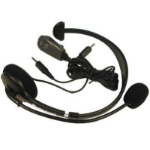 Midland 22-540 Monaural Head-band Black headset
