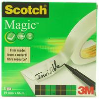 Scotch Magic Tape 810, 19mmx66m stationery tape 66 m