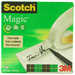 Scotch Magic Tape 810, 19mmx66m 66m stationery/office tape