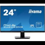 "iiyama ProLite XU2493HS-B1 computer monitor 60.5 cm (23.8"") Full HD LED Flat Matt Black"