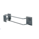 """R-Go Tools R-Go Alternative Wall Mount, up to 27"""", Max weight 10kg, adjustable, silver"""