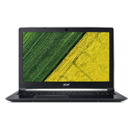 "Acer Aspire A715-71G-50WU 2.5GHz i5-7300HQ 7th gen Intel® Core™ i5 15.6"" 1920 x 1080pixels Black Notebook"