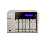 QNAP TVS-663 NAS Tower Ethernet LAN Gold