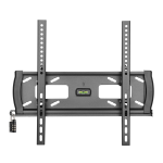 """Tripp Lite Heavy-Duty Tilt Security Wall Mount for 32"""" to 55"""" TVs and Monitors, Flat or Curved Screens, UL Certified"""