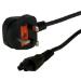 MCL G / BS 1363 cable de transmisión Negro Enchufe tipo G