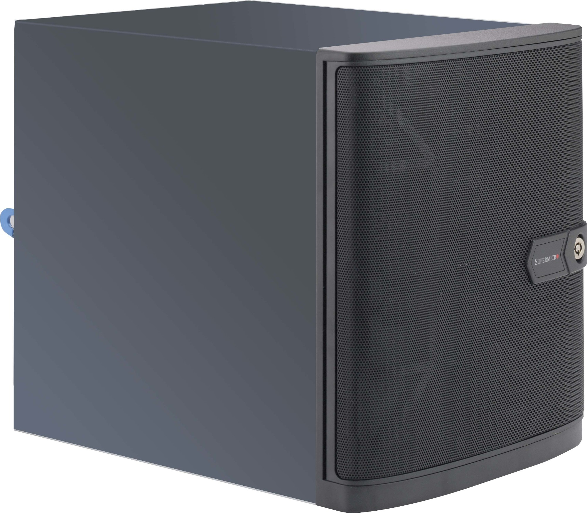 Supermicro CSE-721TQ-250B Mini-Tower 250W Black computer case