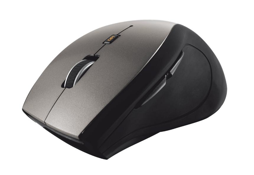 Trust Sura ratón RF inalámbrico Óptico 1600 DPI