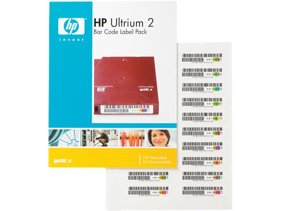 Ultrium2 Automation Bar Code Labels 100-pk