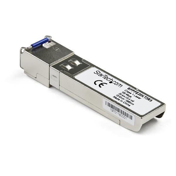 StarTech.com Módulo transceptor SFP compatible con el modelo SFP-FE20KT13R15 de Juniper - 100Base-BX10-U (upstream)