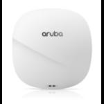 Aruba, a Hewlett Packard Enterprise company Aruba AP-345 (RW) 4300 Mbit/s Power over Ethernet (PoE) White, Black