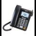 MaxCom MM28D teléfono Teléfono DECT Negro