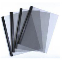 Durable Report Cover Combi Pack A3 Folded to A4 and Spine Bar 60 Sheets 6mm Black [Pack 100]