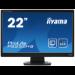 "iiyama ProLite P2252HS-B1 computer monitor 54.6 cm (21.5"") Full HD LED Flat Matt Black"