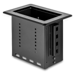 StarTech.com Single-Module Conference Table Connectivity Box BEZ4MOD