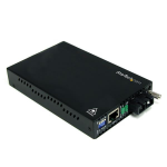 StarTech.com 10/100 Mbit Single-Mode Glasvezel Converter SC 30 km