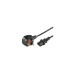 Microconnect PE090410 power cable Black 1 m Power plug type G C13 coupler