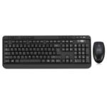 Adesso WKB-1320CB keyboard RF Wireless QWERTY Black