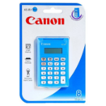 Canon AS-8 Pocket Basic calculator Blue