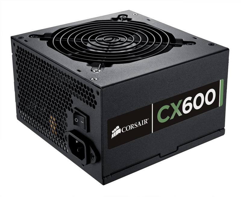 Corsair CX600 600W ATX Black power supply unit