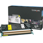 Lexmark C522A3YG Toner yellow, 3K pages @ 5% coverage