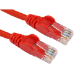 Cables Direct 0.5m Economy Gigabit Networking Cable - Red