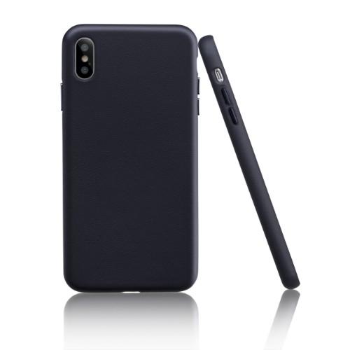Garbot Corium Nappa Leather Case for Iphone XS Max Nero Ade