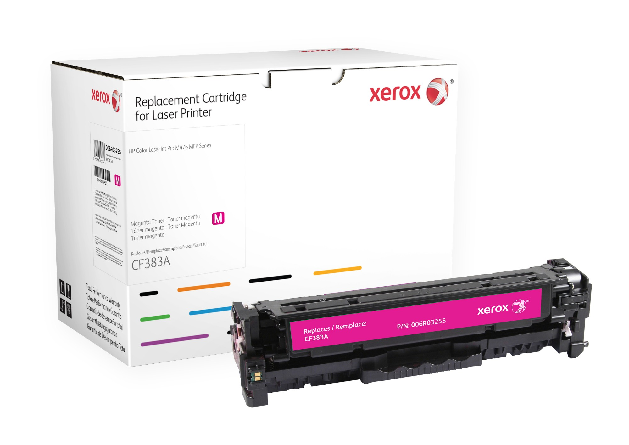 Xerox 006R03255 compatible Toner magenta, 2.7K pages (replaces HP 312A)