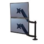 """Fellowes 8043401 flat panel desk mount 68.6 cm (27"""") Black"""