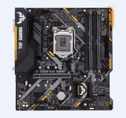 ASUS TUF B360M-PLUS GAMING LGA 1151 (Socket H4) Intel® B360 Micro ATX