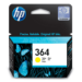 HP 364 Yellow Ink Cartridge Original Amarillo 1 pieza(s)
