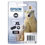 Epson C13T26314012 (26XL) Ink cartridge bright black, 400 pages, 9ml