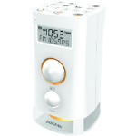 Sangean K-200 Clock Digital White Clock/Portable Radio