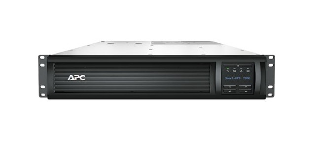 APC Smart-UPS 2200VA Line-Interactive 2200VA 9AC outlet(s) Rackmount Black uninterruptible power supply (UPS)