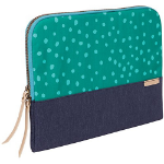 "STM Grace 13"" Sleeve case Green,Navy"